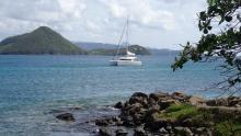 Lagoon 39 : At anchor